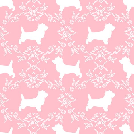 Rcairn_terrier_floral_pink_shop_preview