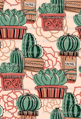 So many cactuses!