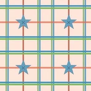 Jack Juggles - Plaid/star buttons -ed