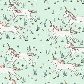 Field Of Unicorns // by Sweet Melody Designs