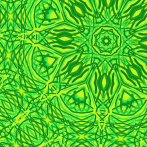 brush_strokes_shades_of_green_kaleidoscope_pattern