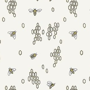 Honey Bees // by Sweet Melody Designs