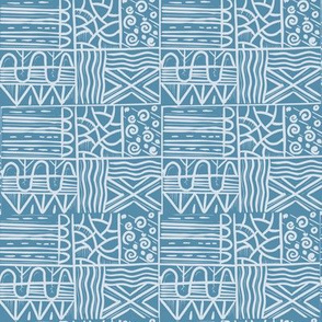 Fenland Fields // cornflower blue