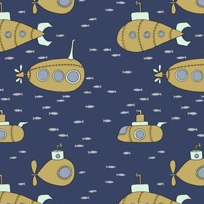 Submarines // by Sweet Melody Designs
