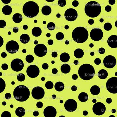 Ladybird Spot - Ladybird Yellow-Green