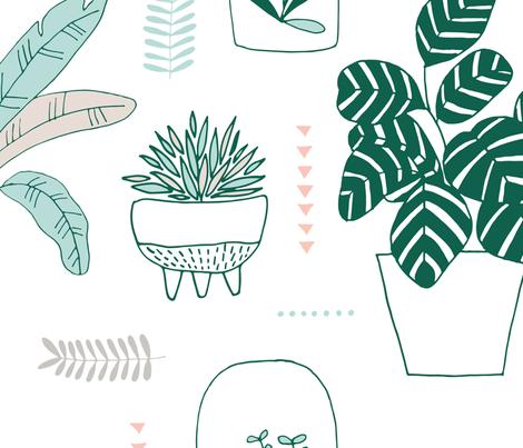 urbanjungle fabric by ldpapers on Spoonflower - custom fabric
