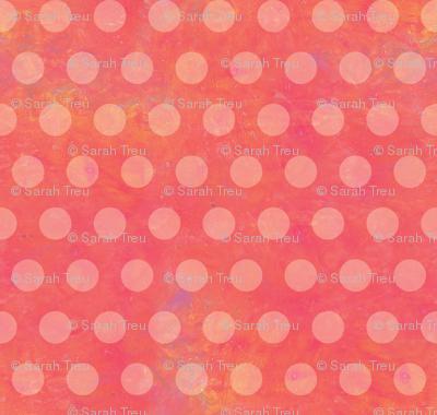 Warm and Sunny-Pink Polka Dots