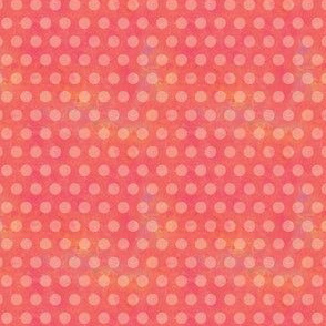 Warm and Sunny-Pink Polka Dots