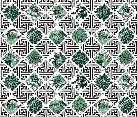 Trellis fabric by graceful on Spoonflower - custom fabric