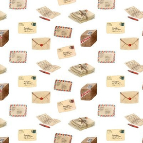 Vintage Mail by Robayre
