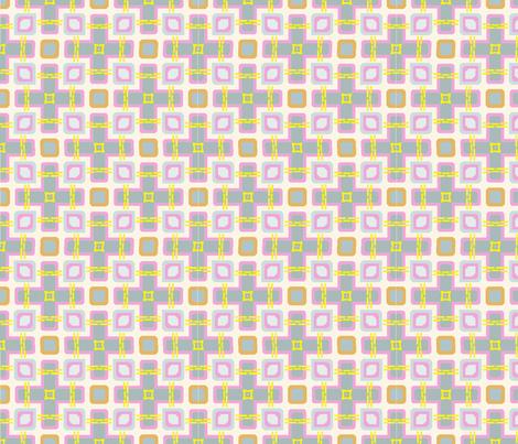 modern_pink_zoo-ch fabric by artsybee_studio on Spoonflower - custom fabric