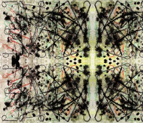 Musical Rage fabric by chaosfay on Spoonflower - custom fabric