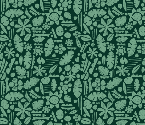 Succulents fabric by patternopolis on Spoonflower - custom fabric