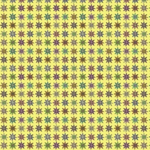 Flowers on Yellow