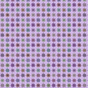 Flowers on Lavender