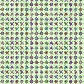 Flowers on Light Green