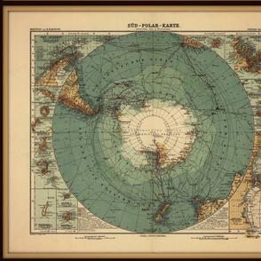 Antarctica map, FQ