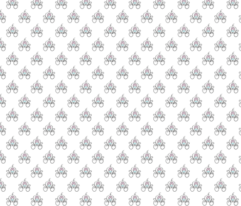 Small Carriage fabric by biancahowell on Spoonflower - custom fabric