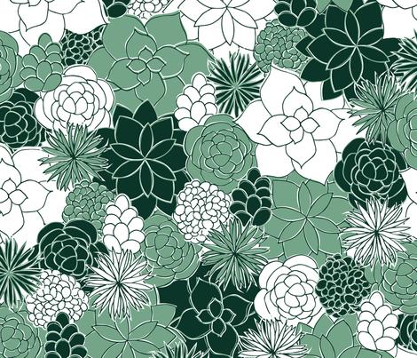 Desert Garden fabric by robyriker on Spoonflower - custom fabric