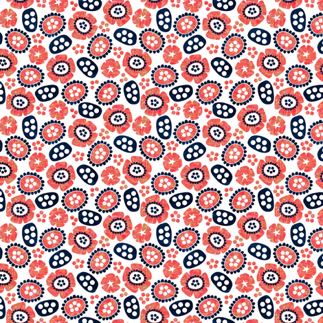 Matisse in Bloom fabric by sarah_treu on Spoonflower - custom fabric