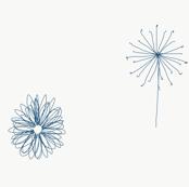 Oopsie daisy blue