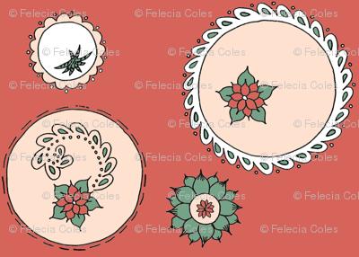 Succulent circles