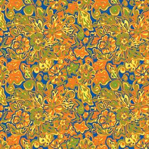 Hibiscus  orange