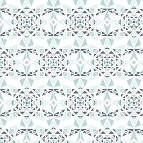 Native Turquoise White