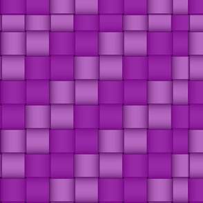 Purple Ribbon Weave