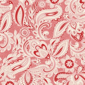 French Paisley - Pink