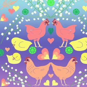 Moxie Midnight's Rainbow Snuggle
