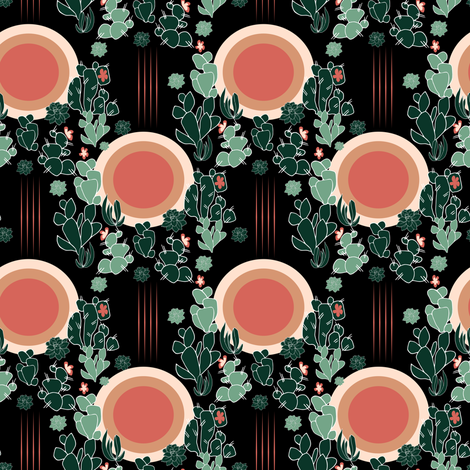 Desert Sunrise fabric by mariamsol on Spoonflower - custom fabric