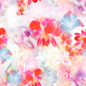 Abstract Photo Floral
