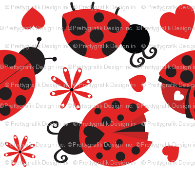 Cute Ladybugs 08