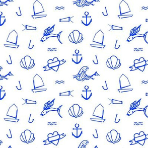 Petit Sailor / Cobalt