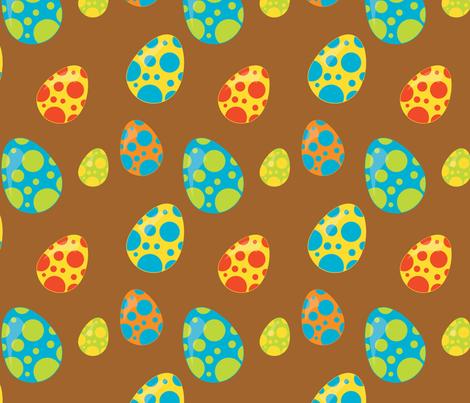 Dinosaurs 04 fabric by prettygrafik on Spoonflower - custom fabric