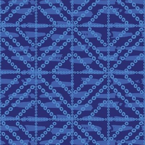Diamonds - Blue & Navy