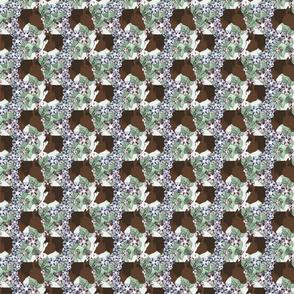 Floral Horse portraits 3 - small