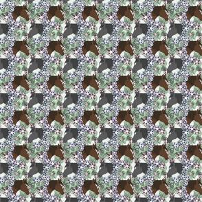 Floral Horse portraits 4 - small
