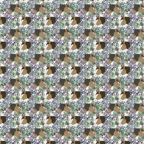 Floral Horse portraits 5 - small