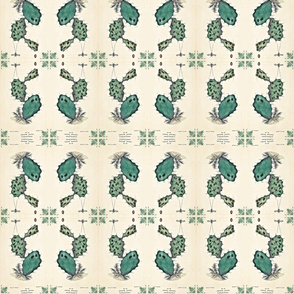 lithograph 2 cactus