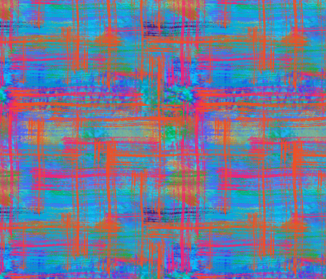 Painted Plaid fabric by bags29 on Spoonflower - custom fabric