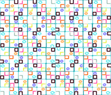 CHECKS_AND_CIRCLES fabric by soobloo on Spoonflower - custom fabric