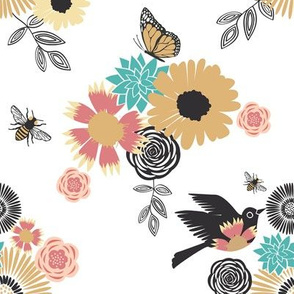 Birds & Bees Floral Mix