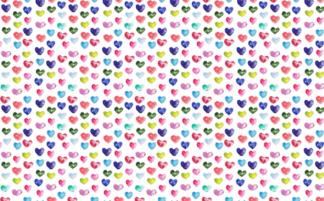 Full_of_Hearts fabric by wildflowerfabrics on Spoonflower - custom fabric