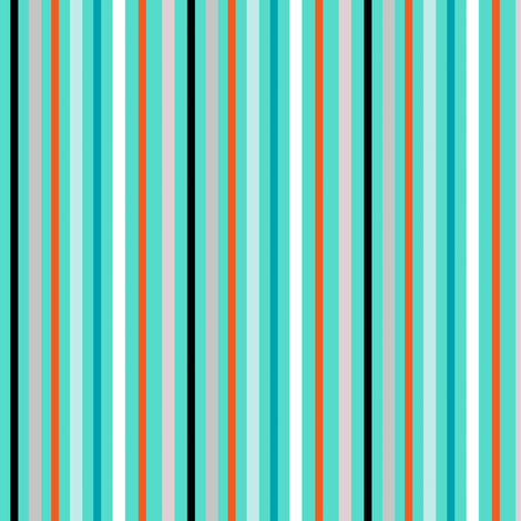 Warm me up before you go go (stripe) fabric by franbail on Spoonflower - custom fabric