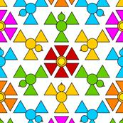 hex triangle 3m bird3 bloom1 x3