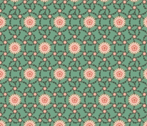 Spreading Succulents fabric by vivaeris_designs on Spoonflower - custom fabric
