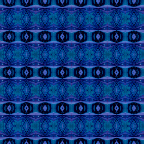 Dancing Blues fabric by misselaineous_artwork on Spoonflower - custom fabric