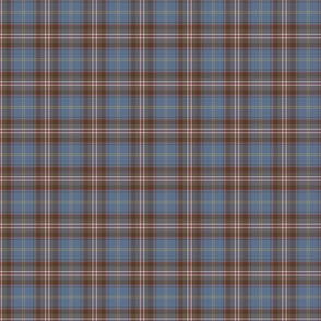 Czech tartan reproduction colours 1/3 third scale